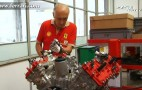 Follow A Ferrari 458 Italia Engine Through The Assembly Process: Video