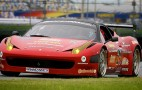 Grand-Am Ferrari 458 Italia Tests At Daytona