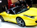 Ferrari 458 Italia with HELE system in Geneva