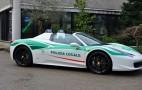 Mafia's confiscated Ferrari 458 turned into police car