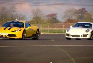 Ferrari 458 Speciale and Porsche 911 GT3