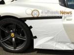 Ferrari 458 Speciale Spider spy shots (Image via 4WheelsNews)