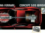 Ferrari 599 Hybrid leaked image