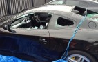 Man Attacks Ferrari 612 Scaglietti With An Axe