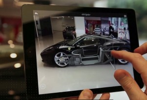 Ferrari Shows Off Augmented Reality Showroom App: Video