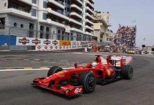 Ferrari at the 2009 Monaco GP