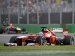 Ferrari at the 2013 Formula 1 Malaysian Grand Prix