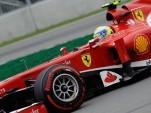 Ferrari at the 2013 Formula One British Grand Prix