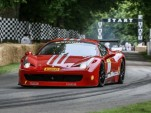 Ferrari At The 2015 Goodwood Festival Of Speed