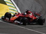 Ferrari at the 2017 Formula 1 Brazilian Grand Prix