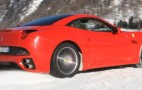 Ferrari FF… Wait, California Hits The Snow In St. Moritz: Video