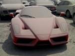 Ferrari Enzo abandoned in Dubai