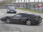 Ferrari Enzo test mule spy shots