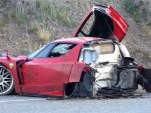 Ferrari Enzo wreck
