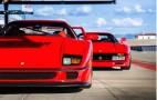 Ferrari LaFerrari Meets Its Predecessors... In A Drag Race: Video