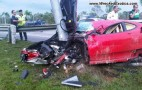 Ferrari F430 Test Drive Ends In Crash