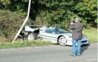 Ferrari F50 Crashes In The U.K.