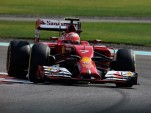 Ferrari Formula One post-season testing