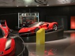 Ferrari LaFerrari design study on display at Galleria Ferrari, Ferrari World Abu Dhabi