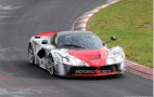 LaFerrari Testing On The Nürburgring: Spy Shots