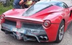 Did A Ferrari LaFerrari Just Catch Fire?