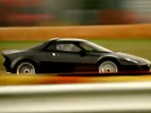 Ferrari president Luca di Montezemolo drives the New Stratos at Fiorano