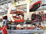 Ferrari production line