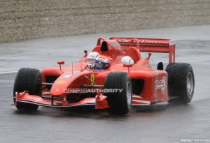 Ferrari Red Rush three-seater F1 car spy shots