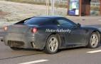 Spy shots: Test-mule for future small Ferrari