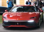 Ferrari SP38 at Concorso d'Eleganza Villa D'Este