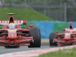 Ferrari sweeps French GP, Toyota gets first podium since 2005