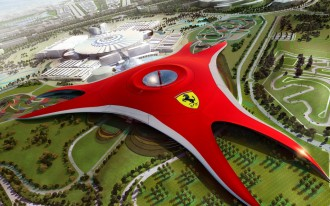 Video: 'Ferrari World' Theme Park On-Track For 2010 Opening