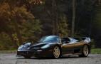 Ultra-rare black Ferrari F50 heads to the auction block