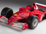 Michael Schumacher's Ferrari F2001 race car from the 2001 Formula 1 World Championship