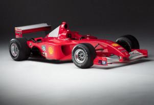 2001 Scuderia-Ferrari Marlboro f2001 driven by Michael Schumacher