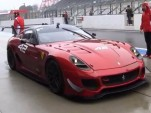 Ferrari's 599XX Evolution at Suzuka.