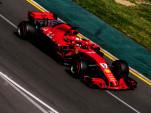 Ferrari's Sebastian Vettel at the 2018 Formula 1 Australian Grand Prix