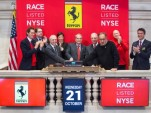 Ferrari's Wall Street debut on October 21, 2015