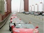 Ferraris on Golden Gate Bridge