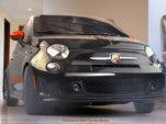 Fiat 500 Abarth on house arrest with Charlie Sheen