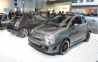 2010 Detroit Auto Show: Fiat 500 BEV Concept On Chrysler's Crowded Stand