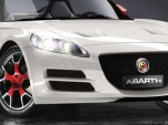 Fiat Abarth Coupe computer generated rendering