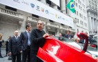 Fiat Chrysler Automobiles Starts Trading On New York Stock Exchange