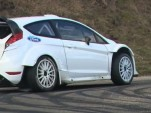 Fiesta RS WRC in testing for 2012 Rallye Monte Carlo