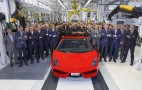 Last Lamborghini Gallardo Rolls Off The Assembly Line