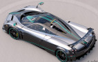 Final Pagani Huayra coupe enters production