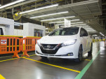 2018 Nissan Leaf electric car now rolling off lines in Tennessee