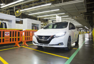 300,000th Nissan Leaf electric car delivered as new version kicks off