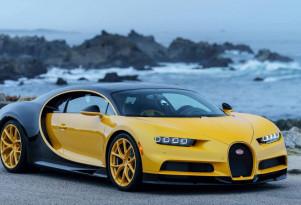 First Bugatti Chiron in the United States