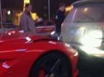 First Ferrari F12 Berlinetta crash - Image courtesy of CarNewsChina